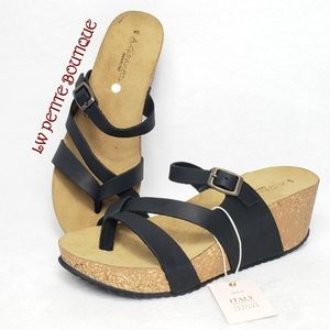 A. Giannetti Leather Sandals